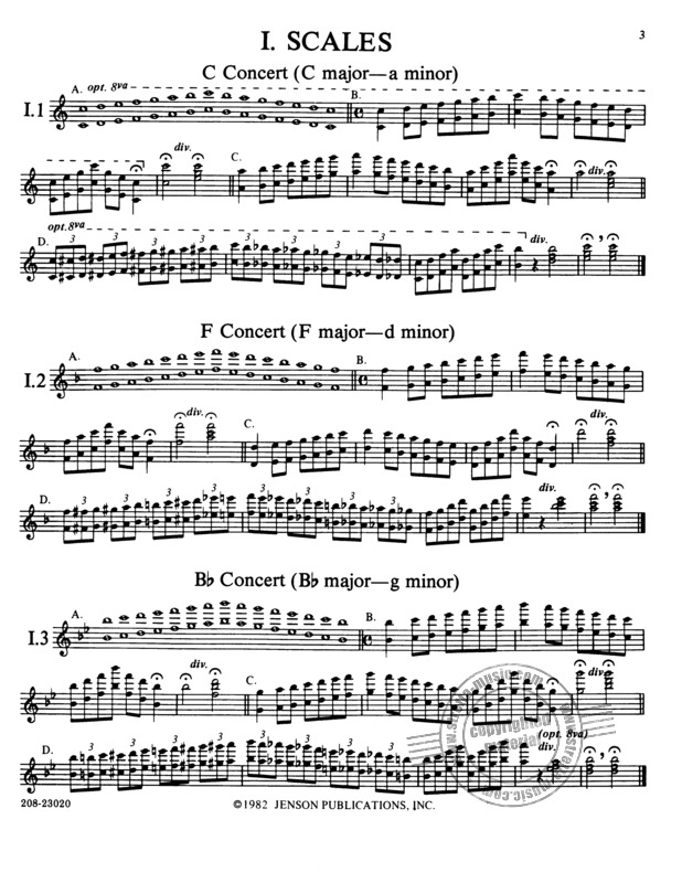 Claude Thomas Smith: Symphonic Warm-Ups for Band (1)