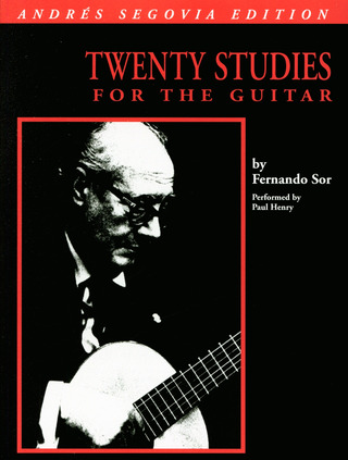 Fernando Sor: Fernando Sor: Twenty Studies For Guitar