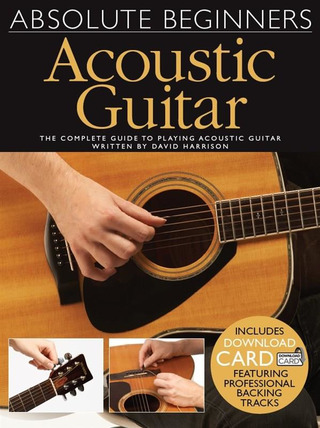 David Harrison: Absolute Beginners: Acoustic Guitar