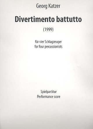 Georg Katzer: Divertimento battutto