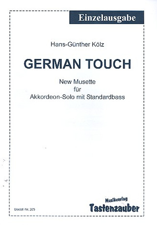 Hans-Günther Kölz: German Touch