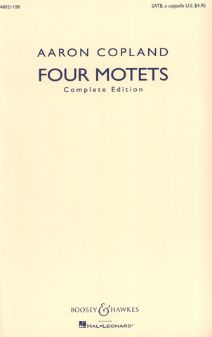 Aaron Copland: Four Motets