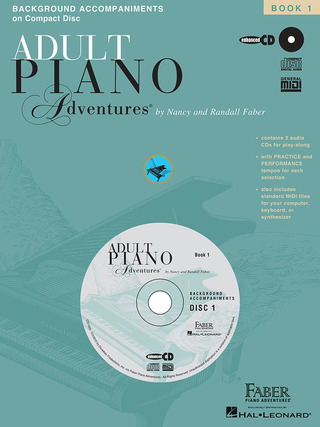 Nancy Faber et al.: Adult Piano Adventures: All-In-One Lesson 1