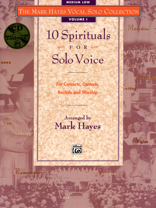 Hayes Mark: 10 Spirituals For Solo Voice 1 (Medium Low Voice)
