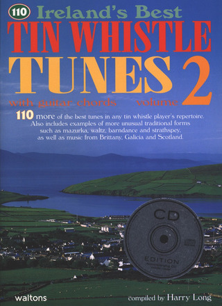 110 Ireland's Best Tin Whistle Tunes 2 With Guitar Chords