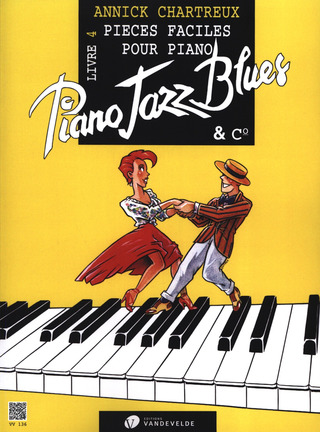 Annick Chartreux: Piano Jazz Blues 4