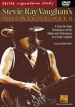 Stevie Ray Vaughan: Vaughan Sr Greatest Hits Guitar Signature Licks Dvd