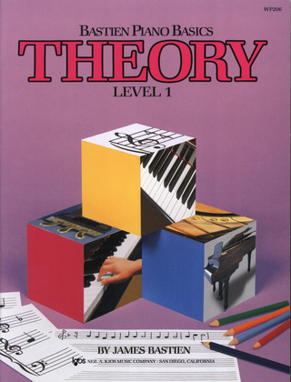James Bastien: Bastien Piano Basics – Theory 1