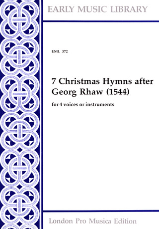 7 christmas hymns after Georg Rhaw