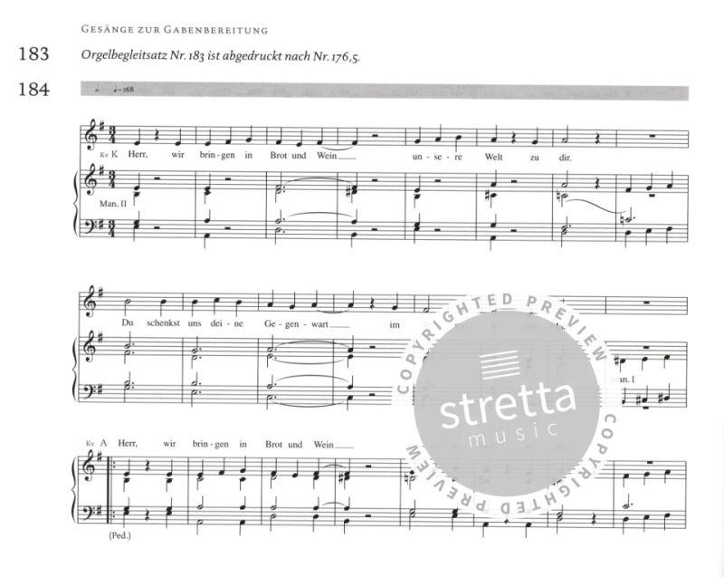 Orgelbuch Gotteslob Stammteil