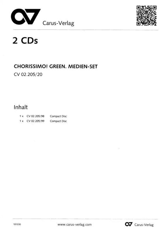 chorissimo Hauptband green