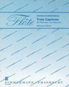 Belcke Christian Gottlieb: Trois Caprices