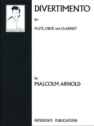 Malcolm Arnold: Divertimento For Wind Trio op. 37 Pts