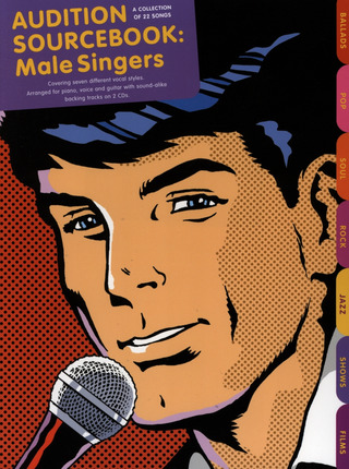 Audition Sourcebook For Male Singers Pvg Book / 2Cd