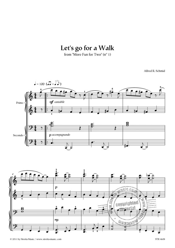 Alfred R. Schmid: Let's go for a Walk