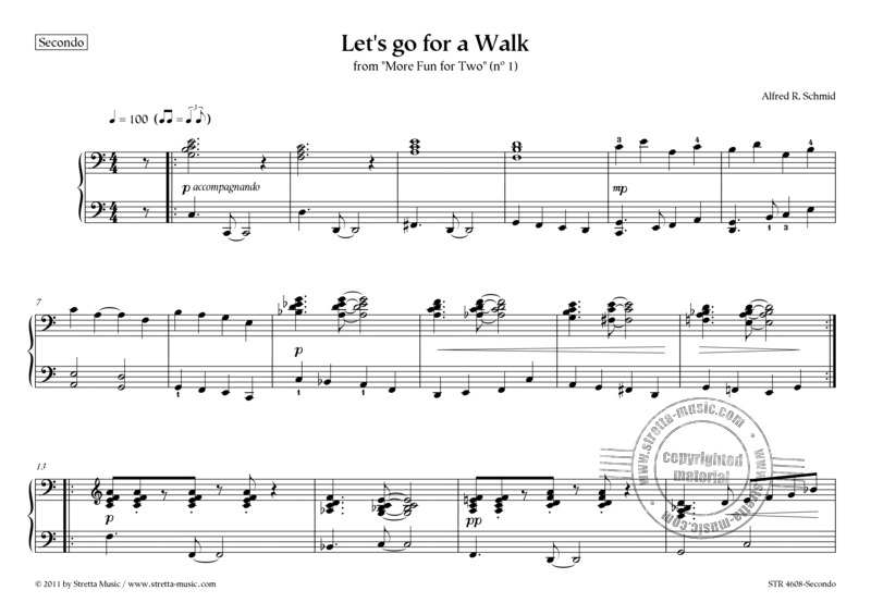 Alfred R. Schmid: Let's go for a Walk (1)