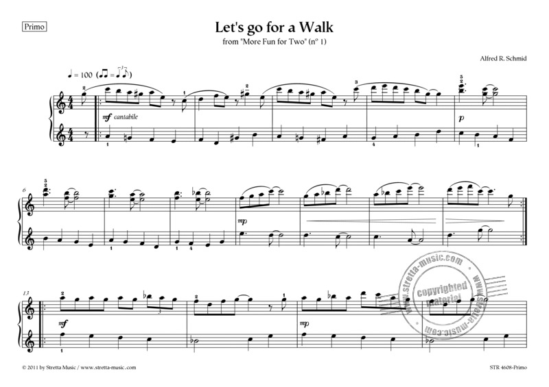 Alfred R. Schmid: Let's go for a Walk (2)