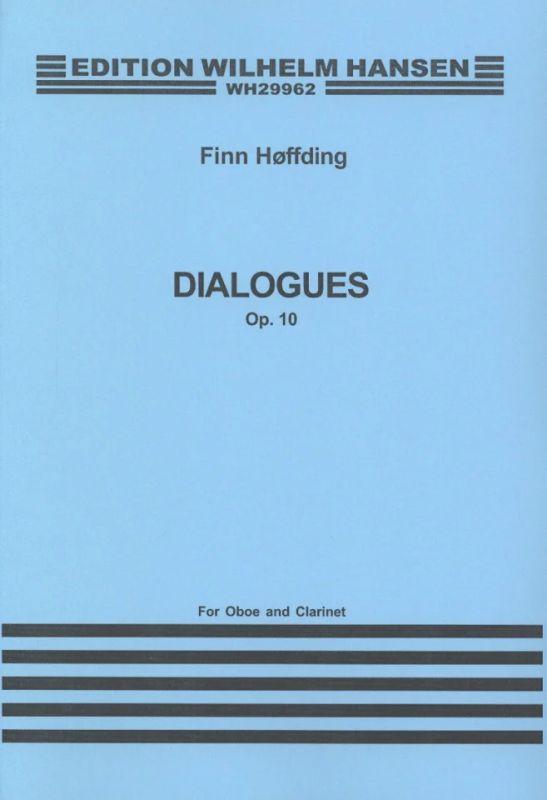 Dialogues op. 10 from Finn Høffding   buy now in Stretta sheet ...
