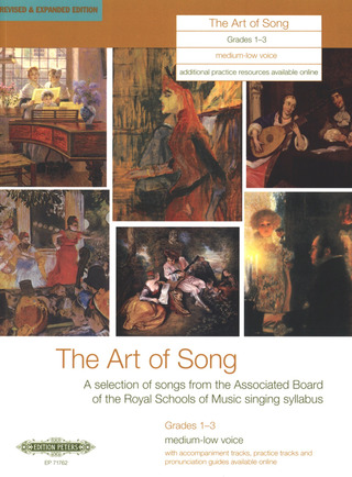 The Art of Song – mittlere/tiefe Stimme