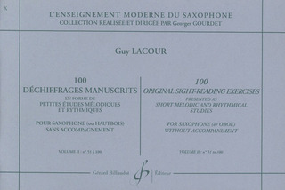 Guy Lacour: 100 Dechiffrages Manuscrits 2 (51-100)
