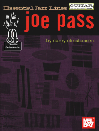 Corey Christiansen: Essential Jazz Lines In The Style Of Joe Pass