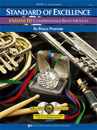 Bruce Pearson: Standard Of Excellence 2 Enhanced Comprehensive Band Method