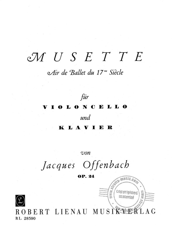 Jacques Offenbach: Musette op. 24