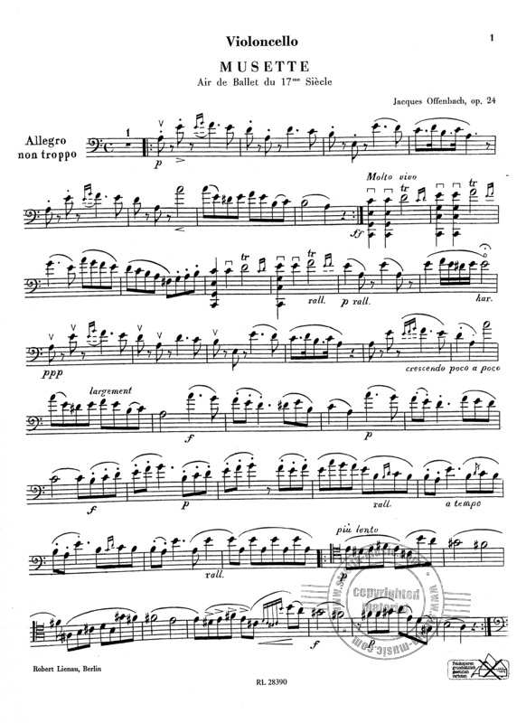 Jacques Offenbach: Musette op. 24 (3)