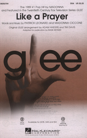 Madonna: Like A Prayer (Featured On Glee)