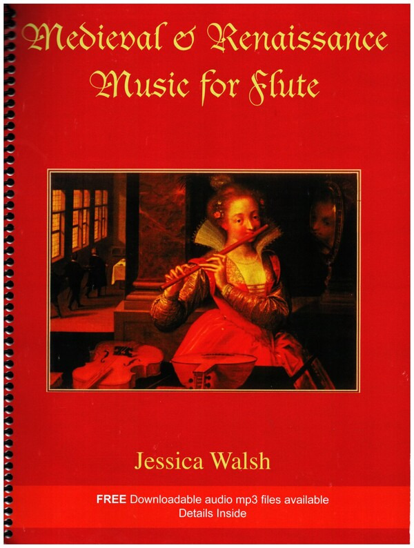 Medieval and Renaissance Music for Flute (Book and CD)