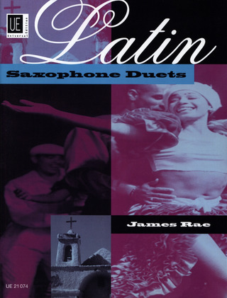 James Rae: Latin Saxophone Duets