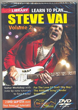 Steve Vai: Lick Library: Learn To Play Steve Vai Volume 2