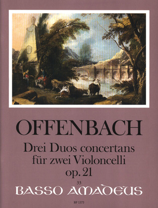 Jacques Offenbach: 3 Duos Concertans Op 21