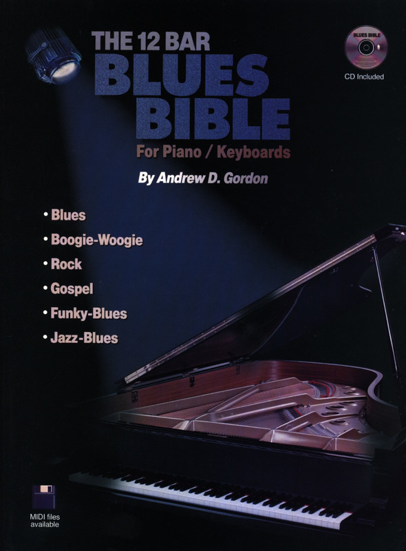 The 12 Bar Blues Bible For Piano / Keyboards Pf Book / Cd