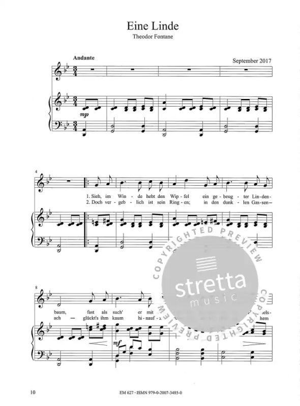 Sechs romantische Lieder von Ralf Albert Franz | im