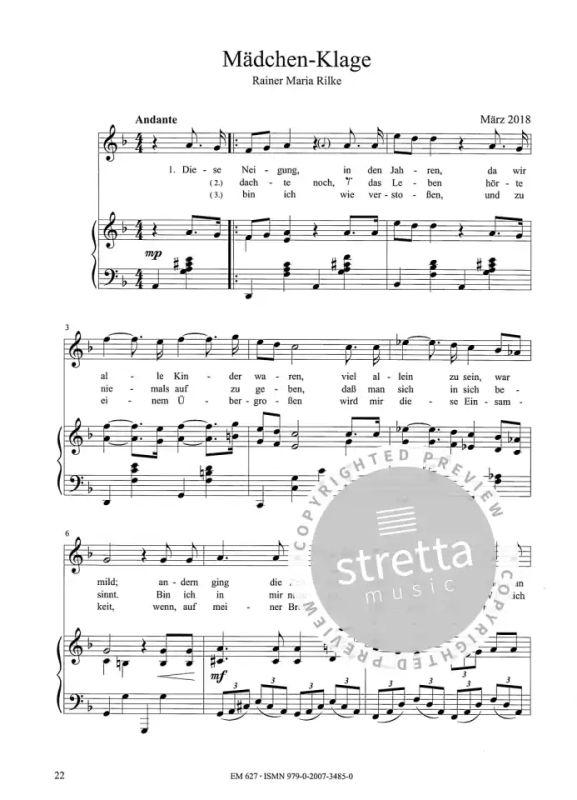 Sechs romantische Lieder von Ralf Albert Franz   im