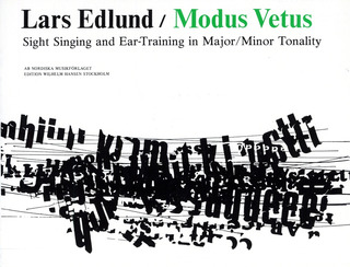 Lars Edlund: Modus Vetus Sight Singing and Ear-Trnng Maj/Min Tonality