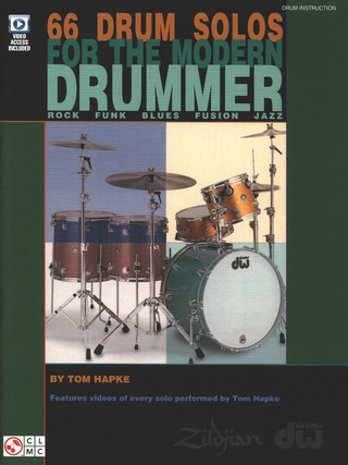 Tom Hapke: 66 Drum Solos for the Modern Drummer