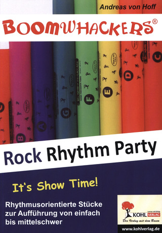 Andreas von Hoff: Boomwhackers – Rock Rhythm Party