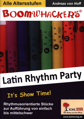 Andreas von Hoff: Boomwhackers – Latin Rhythm Party