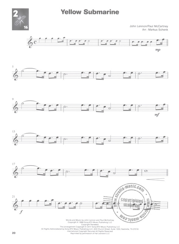 Listen And Learn Book//CD 2 Clarinet Sheet Music Look