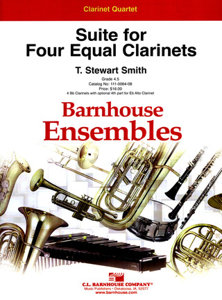 Smith T. S.: Suite For 4 Equal Clarinets