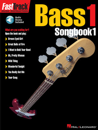 FastTrack Bass 1 – Songbook 1