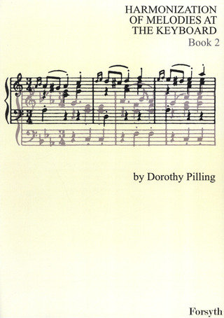 Pilling Dorothy: Harmonization Of Melodies At The Keyboard 2