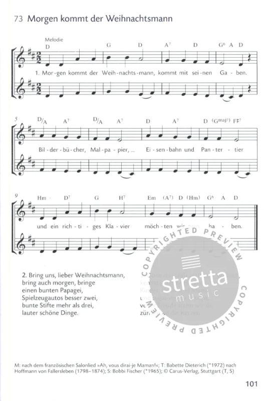Schöne Weihnachtslieder.Weihnachtslieder Für Kinder Im Stretta Noten Shop Kaufen