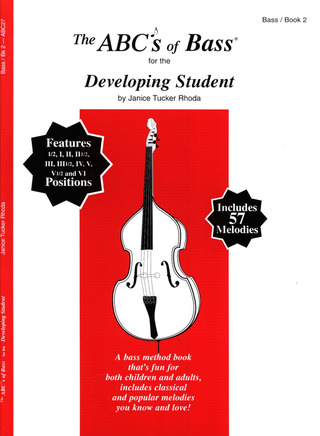 Tucker Rhoda Janice: Abc's Of Bass 2 For The Developing Student
