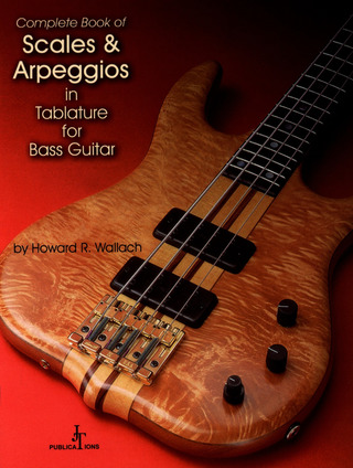 Howard Wallach: Complete book of Scales & Arpeggios