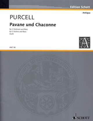 Henry Purcell: Pavane und Chaconne g-Moll