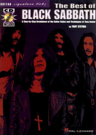 Black Sabbath: Black Sabbath Best Of Guitar Signature Licks Book/Cd