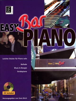 Easy Bar Piano - Ballade, Blues & Boogie, Stridepiano mit CD für Klavier mit CD